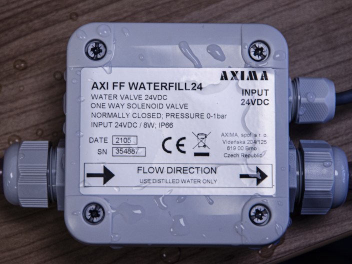 AXI FF WATERFILL24 TUTORIAL